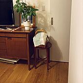 北欧ヴィンテージ/サイドテーブル/チーク材の家具/ヴィンテージ/ベッド周りのインテリア実例 - 2020-11-28 19:17:03
