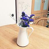 棚/丸テーブル/momo natural/花のある暮らし/築40年以上...などのインテリア実例 - 2020-10-18 00:14:24