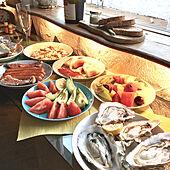 窓辺で食事/オリーブのまな板/イッタラティーマ/イッタラ/窓辺...などのインテリア実例 - 2020-08-18 16:06:26