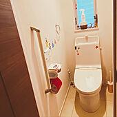 二階のトイレは可愛らしく♪/クイックルホームリセット/リビング掃除/ウィルス対策/クイックル...などのインテリア実例 - 2020-10-25 07:33:11