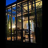 夕食後/観葉植物/グリーン/庭/サンルーム...などのインテリア実例 - 2021-06-13 19:24:57