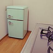 キッチン/オーヤマ/ノンフロン冷凍冷蔵庫/PRR-082D/冷蔵庫のインテリア実例 - 2021-07-24 23:02:09