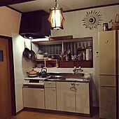 照明/DIY/キッチン/ドライフラワー/かご収納...などのインテリア実例 - 2020-12-01 00:01:44