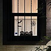黒画用紙/切り紙/HALLOWEEN/窓/YKKap...などのインテリア実例 - 2020-10-05 22:59:20