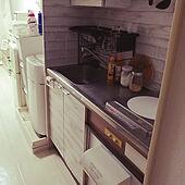 キッチン/ナチュラル/ダイソー/100均/一人暮らしのインテリア実例 - 2021-04-12 01:41:44