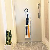傘立て/一人暮らし/観葉植物/玄関/入り口のインテリア実例 - 2021-06-13 21:22:16