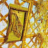 コデマリドライフラワー/orange-toast さんの作品/ラティスリメイク/ナチュラル素材/カラフルインテリア...などのインテリア実例 - 2021-08-04 14:48:40