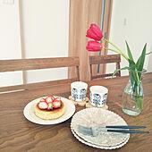 机/お茶セット/シンプルインテリア/いいね♪いつもありがとうございます❤️/チューリップ...などのインテリア実例 - 2021-01-27 15:17:36