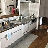 キッチン/北欧柄/すっきり暮らしたい/クリナップ クリーンレディ/キッチンのインテリア実例 - 2021-06-15 13:20:24