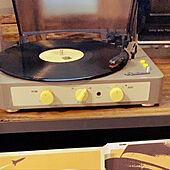 音楽のある暮らし/コースタル/レコードのある生活/レコードプレーヤー/古材...などのインテリア実例 - 2021-03-02 06:18:27