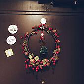 ナチュラルキッチン/クリスマス雑貨/クリスマス/玄関/一人暮らし...などのインテリア実例 - 2019-12-27 01:05:47