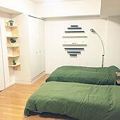 ベッド周り/furniture/surf/ナチュラル/男前...などのインテリア実例 - 2017-08-29 03:48:52