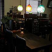 バーカウンターのあるキッチン/カフェコーナー/おうち時間/2DK 1人暮らし/サードプレイス...などのインテリア実例 - 2021-03-01 03:43:27