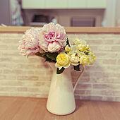 花のある暮らし/IKEA/リビングのインテリア実例 - 2021-05-15 18:51:30