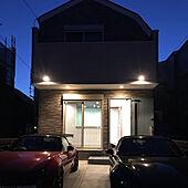 ピンク×ブルー/カースペース/ライトアップ/入居前/ピンク...などのインテリア実例 - 2021-03-04 23:59:53
