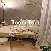ルームツアー/自分部屋/シンプルに憧れる/いつも皆さんありがとうございます♡/寝室...などのインテリア実例 - 2021-09-28 11:06:16