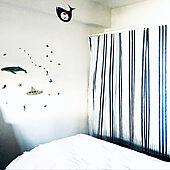壁面収納/目隠し/いつもご覧頂き、とても嬉しいです♡/収納アイデア/寝室収納...などのインテリア実例 - 2021-03-30 08:37:08