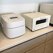 wおどり炊き/Panasonic/炊飯ジャー/バルミューダ トースター/バルミューダ...などのインテリア実例 - 2020-11-24 10:29:49