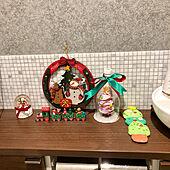 年中/年少/アクセントクロス/大理石モザイクタイル/クリスマス製作...などのインテリア実例 - 2019-12-16 19:45:02
