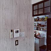壁/天井/DIY/壁紙屋本舗/北欧/壁紙はりかえ...などのインテリア実例 - 2021-02-24 12:26:01
