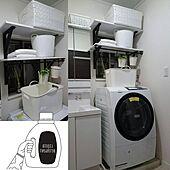 コレ、DIYしたよ!/洗濯機周り Diy/洗面所/ランドリールーム/DIY...などのインテリア実例 - 2021-05-06 09:07:45