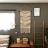 寝室の壁/寝室インテリア/アートのある部屋/アートのある暮らし/インスタ→yuka_home_oo...などのインテリア実例 - 2020-11-19 18:16:28