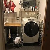 マワハンガー/ドラム式洗濯機/モニター応募投稿/DIY/IKEA...などのインテリア実例 - 2020-09-25 23:57:51