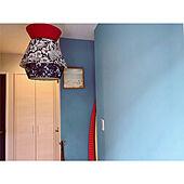玄関/入り口/ペイント壁/ポーターズペイント/アート/照明のインテリア実例 - 2020-04-06 22:07:11