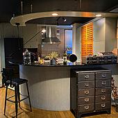 キッチンインテリア/キッチンカウンター/キッチン/和風 インテリア/好きなものに囲まれて暮らす...などのインテリア実例 - 2021-10-20 13:25:01