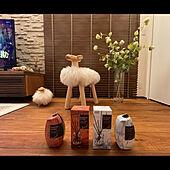 木製ブラインド/ひつじさん/ハンドスクレイプ加工の床/無垢の床/消臭力 Premium Aroma...などのインテリア実例 - 2021-04-30 06:07:39
