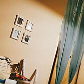 玄関/入り口/ひとり暮らし 1K/築40年/絵/額縁のインテリア実例 - 2017-08-30 18:43:45