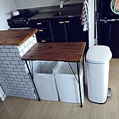 キッチン/DIY/賃貸/キッチンカウンター/賃貸DIY...などのインテリア実例 - 2021-07-31 19:40:12