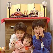 リビング/ひな祭り/こどもと暮らす。/3人の子どもたちと暮らす/赤ちゃんのいる暮らし...などのインテリア実例 - 2021-03-08 03:43:47