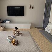 テレビ台/ベストー/IKEAテレビ台/イブルのある暮らし/イブル...などのインテリア実例 - 2021-09-13 15:54:42