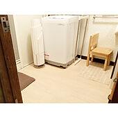 SHARPの洗濯機/SHARP/脱衣所/クッションフロアー貼り/クッションフロア...などのインテリア実例 - 2020-09-26 03:01:48