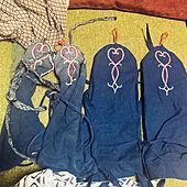 手作り刺繍/刺繍/手作り/DIY/和風...などのインテリア実例 - 2021-06-16 07:49:06