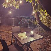 お庭が大好き/夜のライト/読書Time♪/庭家具/庭-KAGU...などのインテリア実例 - 2021-04-11 13:05:05