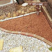 庭づくり/瓦チップ/ナチュラル/DIY/おしゃれ...などのインテリア実例 - 2020-09-18 11:37:47