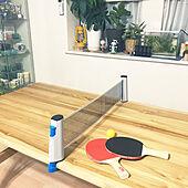 卓球/机のインテリア実例 - 2021-03-01 06:54:19