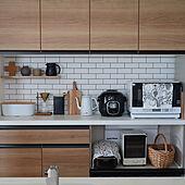 セルフDIY/飾り棚/cook4me/LIXILキッチン/壁紙貼り替え...などのインテリア実例 - 2020-12-25 22:11:01