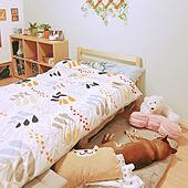 柴犬/わんこのいる暮らし/ニトリ/ベッド周りのインテリア実例 - 2020-04-02 08:52:14