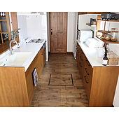 木×白が好き♡/掃除しやすい家/輸入建具/カップボード/木のある暮らし...などのインテリア実例 - 2021-09-23 08:52:06