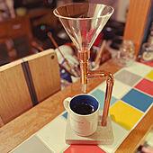 おうちカフェ/リノベーション/カフェコーナー/ミッドセンチュリー/キッチンカウンター...などのインテリア実例 - 2021-04-09 00:54:10