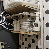 洗濯機上の棚/洗濯機/DIY/賃貸/賃貸アパート...などのインテリア実例 - 2021-03-09 21:29:33
