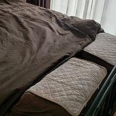 ベッド周り/男前/プチプラ雑貨/夫婦二人暮らし/プチプラインテリア...などのインテリア実例 - 2021-08-04 10:33:13