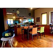壁塗りました/古民家風も憧れ/タイル/キッチンカウンター/キッチンカウンター DIY...などのインテリア実例 - 2021-03-25 07:37:17
