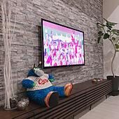 リビング/LaQ/壁掛けテレビ/ニトリ/IKEA...などのインテリア実例 - 2018-09-26 21:54:05