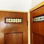 ステンドグラス/年代モノ/ステンドグラスドア/建具再利用/バス/トイレのインテリア実例 - 2021-07-28 07:01:20