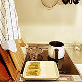 一人暮らし/北欧/IKEA/レトロ/キッチンのインテリア実例 - 2021-09-20 21:23:24