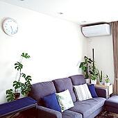 部屋全体/観葉植物いろいろ/いつもありがとうございます♪感謝☆/ポトスタワー/観葉植物のある暮らし...などのインテリア実例 - 2021-02-26 08:13:11